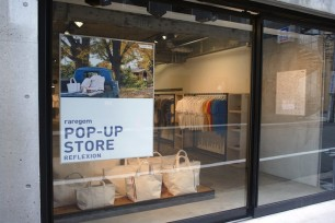 POP-UP STORE in REFLEXION