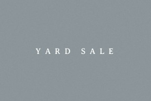 YARD SALE at Shed That Roared
