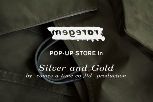 POP-UP STORE in Silver and Gold Umeda Store