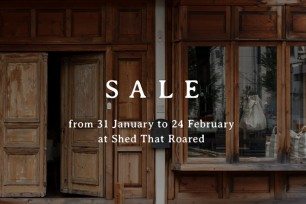WINTER SALE at Shed That Roared